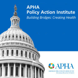Register Now! APHA Policy Action Institute